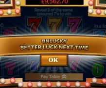SkyVegas – Jackpot 7s Free £1 Scratch Card