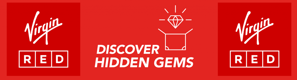 image of Virgin Red Discover Hidden Gems Competition in October